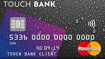 Кредитная карта ТачБанк до 1 миллиона и 61 день без процентов